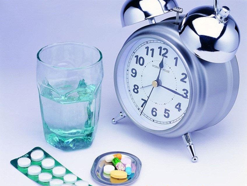 Kết quả hình ảnh cho dùng thuốc không đúng giờ