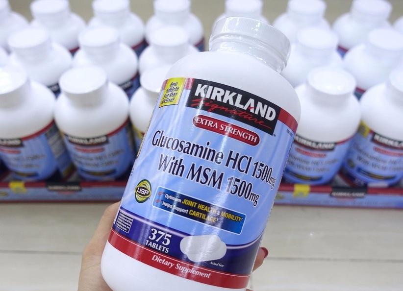 Thuốc bổ khớp glucosamine của Mỹ