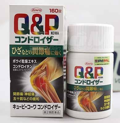 Viên uống bổ khớp Q&P Kowa Nhật Bản giá bao nhiêu?