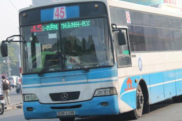 Tuyến xe bus số 45 đi từ bến xe miền đông tới bv chợ rẫy