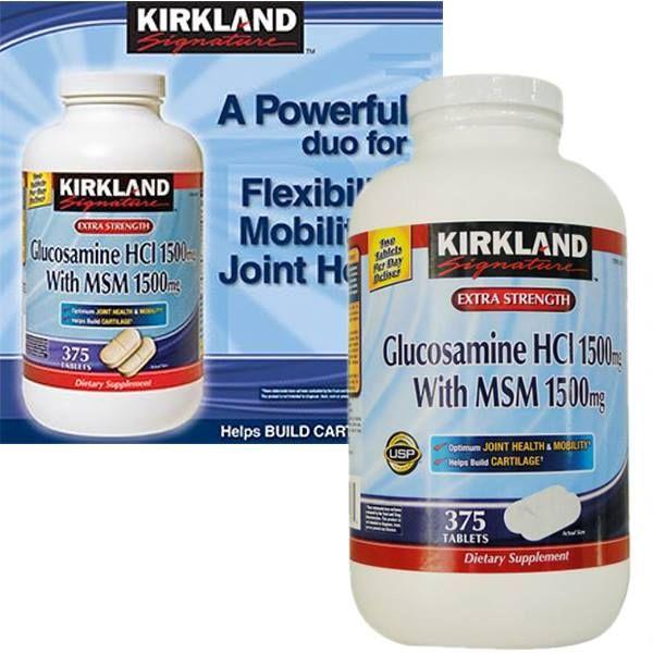 Thuốc bổ xương khớp Glucosamine HCL 1500mg Kirkland