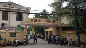 Bệnh viện E Hà Nội nằm ở đâu?