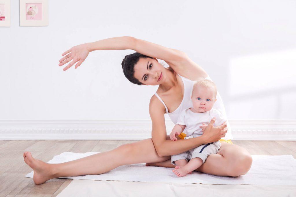 Bài tập giảm đau khớp háng cho phụ nữ sau sinh