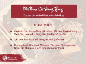 Nhất Nam Cốt Vương Thang bài thuốc bí truyền từ Thái y viện triều Nguyễn