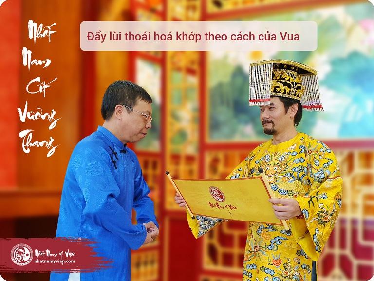 Nhất Nam Cốt Vương Thang chữa thoái hóa khớp cho Golfer